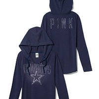 Dallas Cowboys Tunic Hoodie - PINK - Victoria's Secret