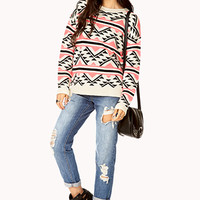 Warm Southwestern-Inspired Sweater | FOREVER 21 - 2000128721