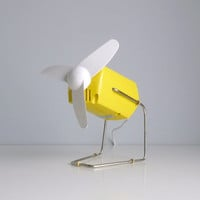 Mid Century Rotating Desk Fan