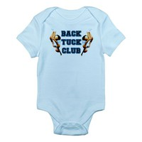 Back Tuck Gymnast Infant Bodysuit on CafePress.com