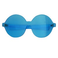 Blue Mod Glasses