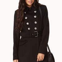 City Girl Trench Coat w/ Belt