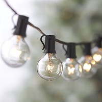 Globe String Lights in Christmas Decorating | Crate&Barrel