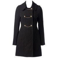 Milly Chained Double Breasted Coat - Forever New