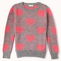 Heathered Heart Sweater (Kids)