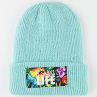 Yea.Nice Nice Life Beanie Mint One Size For Men 22516352301