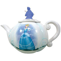 Cinderella Disney Princess Cinderella's Carriage Teapot - Westland Giftware - Cinderella - Dining and Entertaining at Entertainment Earth