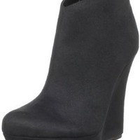 Michael Antonio Women's Cane Ankle Boot,Black,7 M US