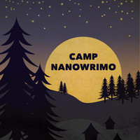 "Camp NaNoWriMo ""Moonrise"" Poster 