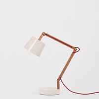Angle Table Lamp 2.0 for Kate Sylvester -pale blush