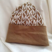 NWOT Michael Kors Fall 2013 Collection Winter Knit Beanie Hat