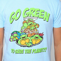 Teenage Mutant Ninja Turtles Green Tee - Urban Outfitters