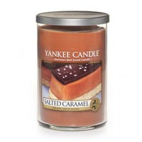 Salted Caramel Scented Candle : Large Tumbler (2-wick) : Yankee Candle
