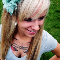 Floral Lace Headband Wanderlust Trio by twoshadesoflovely on Etsy