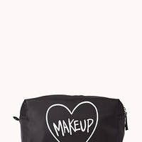 Heart Makeup Case | FOREVER 21 - 1040496860