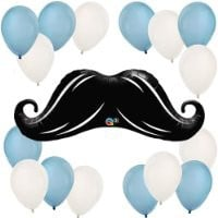 Mustache Little Man Balloon Kit