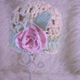 Sweet Cotton and Upcycled Beanie by kathyneilsen on Zibbet