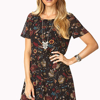 Down-to-Earth Smock Dress | FOREVER 21 - 2000110211