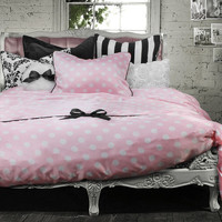 Wake Up Frankie Lingerie Dots 2 Piece Duvet Set
