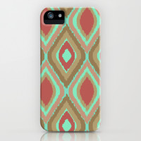 VINTAGE IKAT iPhone & iPod Case by Nika