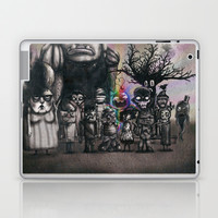 Ms. Nebun's Academic Spook Class Photo Laptop & iPad Skin by Ben Geiger