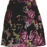 Floral Devore A-Line Skirt - New In This Week - New In - Topshop USA