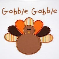 Boys Thanksgiving Shirt Turkey Shirt Size 6-Long Sleeve-On Sale