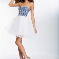 Sticks and Stones 9265 - Short Prom Dress - Formal Dress - Homecoming Dress - 9265