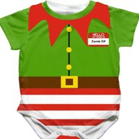Personalized Handmade Baby Elf Onesuit - Available 0-24 Months - Whimsical & Unique Gift Ideas for the Coolest Gift Givers