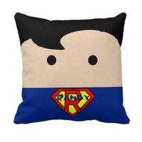Personalized Handmade Superman Pillow - Whimsical & Unique Gift Ideas for the Coolest Gift Givers