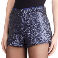 Sequined Admirer Shorts | Mod Retro Vintage Shorts | ModCloth.com