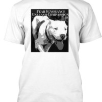 BULLY NATION Charity Pit Bull Heart T Shirts