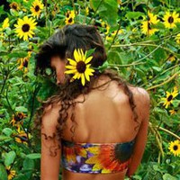 Private Arts Indian Summer Bandeau Made in LA