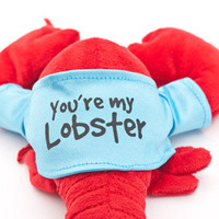 You're My Lobster Plush inspired by the Friends TV Show