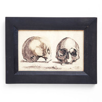 Art Skull Confidential Print | Mod Retro Vintage Wall Decor | ModCloth.com