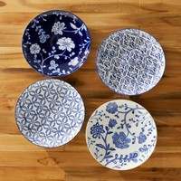 Garden Pattern Plates (set of 4) - VivaTerra