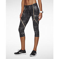 The Nike Legendary Printed Tight Women's Training Capris.
