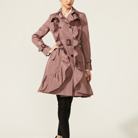 Voulant Front Belted Trench by Valentino at Gilt