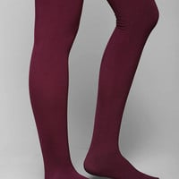 Fleece-Lined Opaque Tight - Urban Outfitters