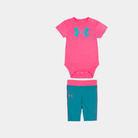 Girls' Newborn UA Shatter Icon Bodysuit Set