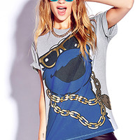 Street-Style Cookie Monster Tee