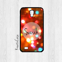 Christmas Samsung Galaxy S4 Case, Galaxy S IV Cases, Christmas Phone Cases, Personalized, Christmas Lights - X008