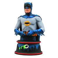 Batman 1966 TV Series Batman Adam West Mini-Bust - Diamond Select - Batman - Busts at Entertainment Earth
