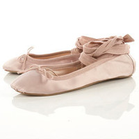 VESTRY Leg Tie Ballet Pumps - Flats - Shoes - Topshop USA