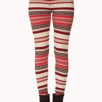 Cozy-Chic Fair Isle Leggings
