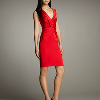 DKNY Vest-Top Dress - Neiman Marcus