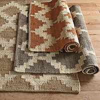 Tradewinds Pattern Hemp Rug