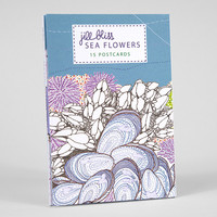Sea Flowers Postcards