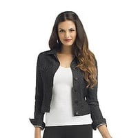 Kardashian Kollection- -Women's Krista Denim Jacket-Clothing-Women's-Jackets & Blazers