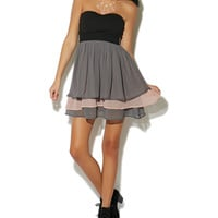 Sweetheart Tube Tiered Dress | Shop Just Arrived at Wet Seal